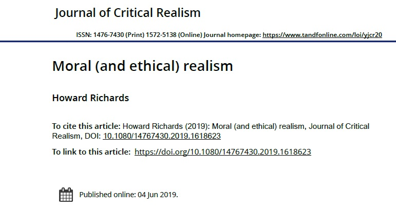 moral and ethical